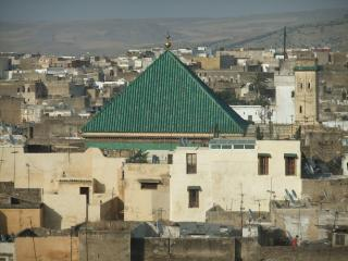Dar Sienna in front of Moulay Idriss