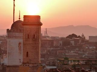 Sunrise viewed from Dar Sienna terrace