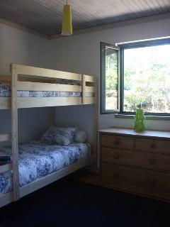 Bunk beds in bedroom 3 - Plenty to keep the children busy - games room, board games, swing etc..
