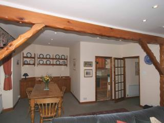 The Living Room, dining area