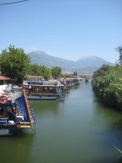 Stunning location - journey the water taxi takes to get to Fethiye