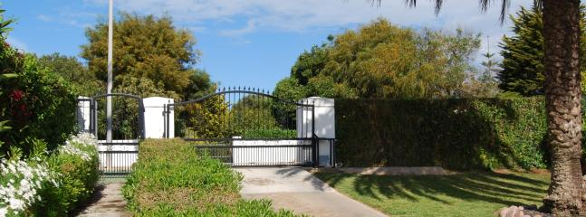 Secure Gate Entry System