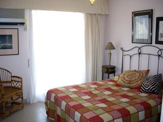 Spacious bedroom 1 with full size double bed