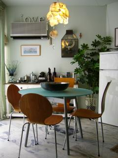 Take a break in the dining room