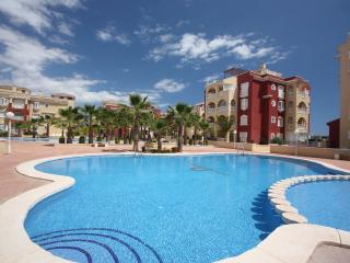 Beautiful 3 bed apartment on popular Puerto Marina  complex Los Alcazares Murcia.