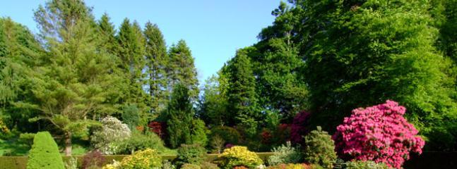 Main Garden in front of Caernywch House