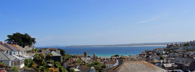 Views from the house across St Ives bay