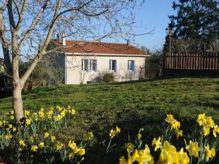 Orchard House in spring