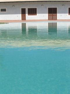 scorcio piscina