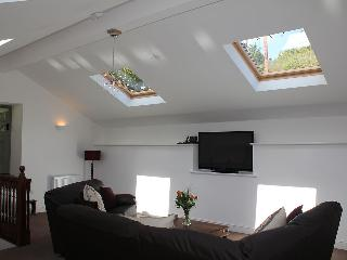 The large, very light upstairs sitting room