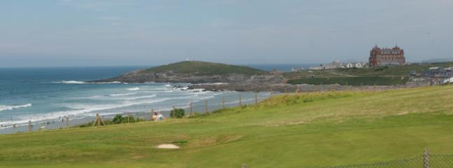 VIEW FROM APARTMENT OVER THE GOLF COURSE AND FISTRAL BEACH