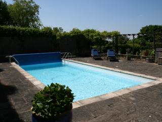 Enclosed Swimming Pool Area