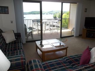 Spring Specials!! Great Lakefront Condo, King Bed, Gas Grill, WiFi, One step in