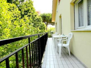 2 minutes walk from the beach, Cervia