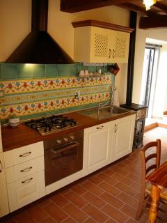 Kitchen detail #villatorredicolonne #fiesolerentals