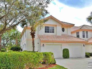 Light and bright second floor end-unit with sparkling lake views, Naples