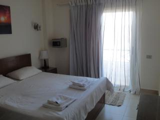The double bedroom which has separate balcony