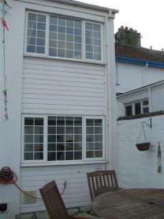 No 2 Sunnyside - rear of cottage