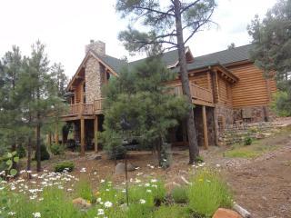 Unique, Gorgeous, Large, Million dollar Log Home i, Show Low