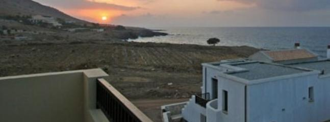 Sunset in Crete (View from the balcony)