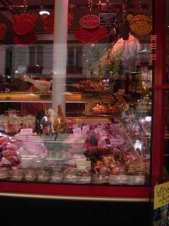 Jackie Godin Butcher shop at Rue des Abbesses