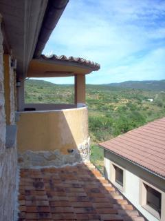 Vista desde el dormitorio II de la terraza.