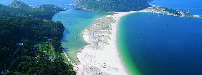 Beach of Rodas. Cies Islands