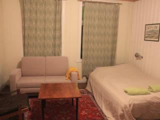 Ground floor with one double bed and one double sleeping sofa