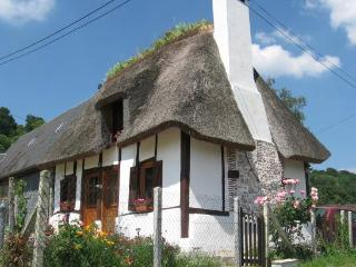 Forget-me-not Chaumiere nrHonfleur - 2 bedroom thatched cottage, Pet friendly