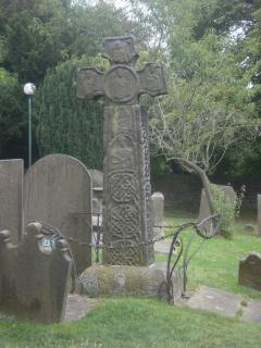 The 9th Century Saxon Cross