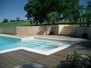 Private pool decking