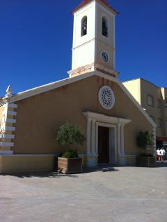 Church at Roldán, local village - 5 minutes away - with shops & restaurants