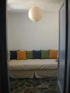 Second bedroom with double sofa bed