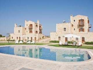 2 Stone Villas and their Views at Arodamos, Stavromenos