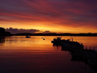 Portnalong sunset
