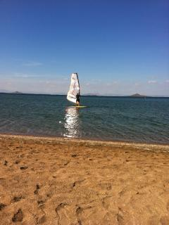 Ideal windsurfing & watersports location at Mar Menor