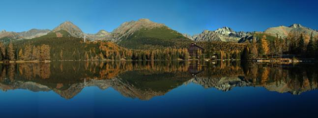 Lake at Strbske Pleso