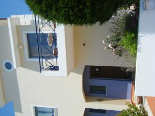 The front of Zeus Gardens - your own private entrance to the villa