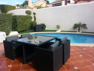 Terrace with bbq, ample dining and seating areas