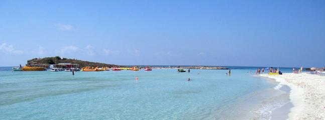 Nissi beach in Agia Napa