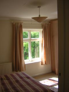 Sunny aspect of master bedroom