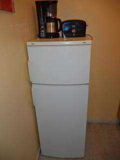Grand frigo avec compartiment congelateur