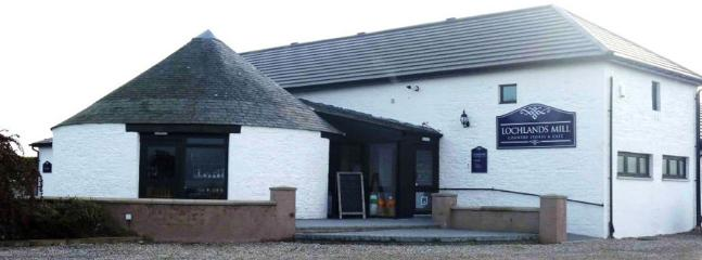 Newly opened Lochlands Mill Restaurant/Cafe Bar (on site) serving breakfast,  lunch & high tea d