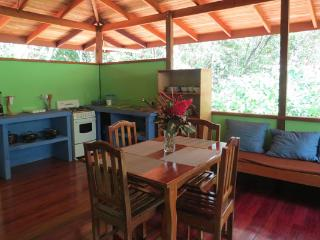 kitchen/dining/living area of Casa Titi
