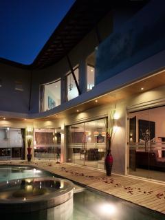 Night time at the Villa