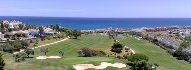 The view from the 17th tee on La Duquesa golf course