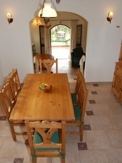 Dining area - if you fancy eating inside