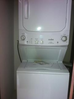 private washer/dryer in suite