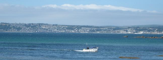 Mounts Bay looking towards Penzance
