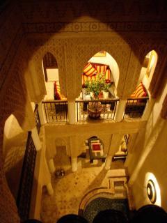 Riad Laksiba - Internal Courtyard